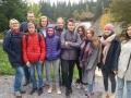 Uczniowie klas III Gimnazjum na Słowacji